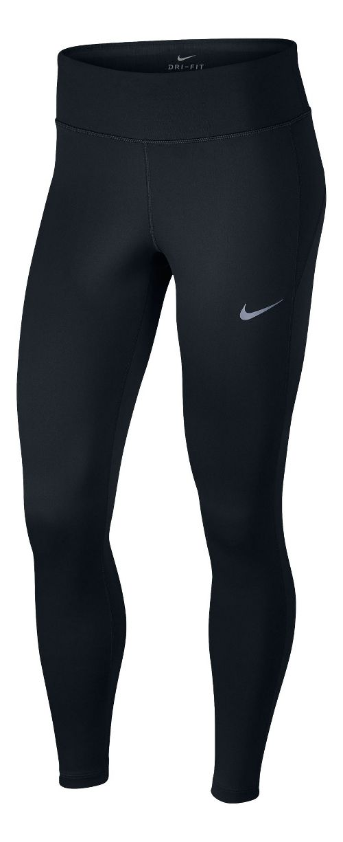 Womens Nike Therma Tights & Leggings Pants - Black M