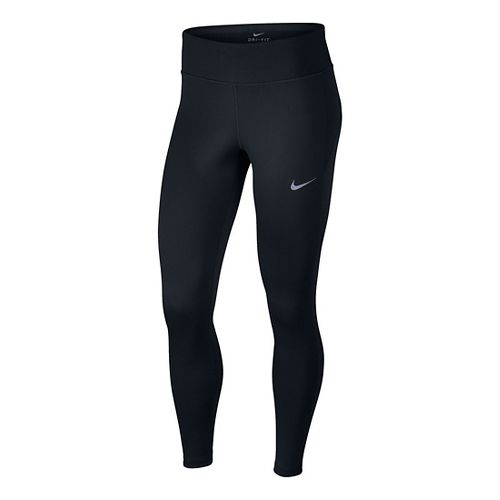 Womens Nike Therma Tights & Leggings Pants - Black L