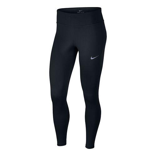 Womens Nike Therma Tights & Leggings Pants - Black S