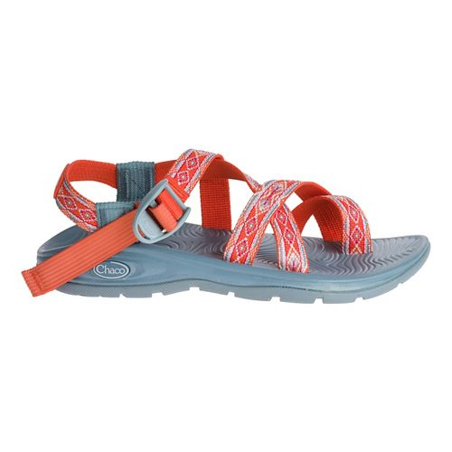Womens Chaco Z/Volv 2 Sandals Shoe - Tangerine Tango 7