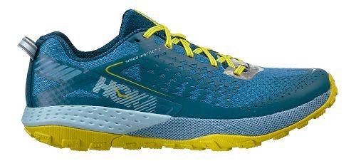 Mens Hoka One One  Speed Instinct 2 Trail Running Shoe - Midnight/Niagara 9