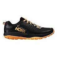 Mens Hoka One One  Speed Instinct 2 Trail Running Shoe - Black/Kumquat 9