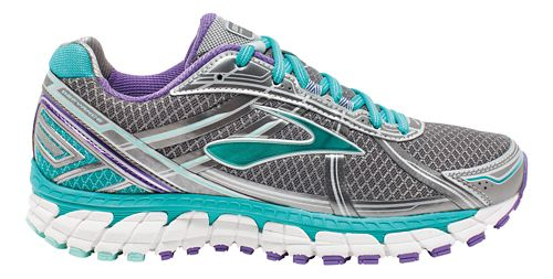 Womens Brooks Defyance 9 Running Shoe - Anthracite/Ceramic 9.5