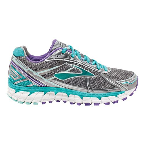 Womens Brooks Defyance 9 Running Shoe - Anthracite/Ceramic 8.5