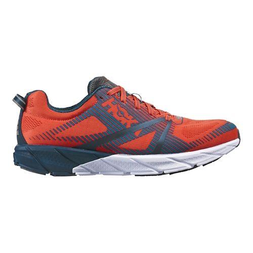 Mens Hoka One One  Tracer 2 Running Shoe - Tangerine/Pearl 12