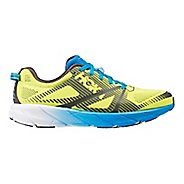 Mens Hoka One One  Tracer 2 Running Shoe - Yellow/Blue 12.5
