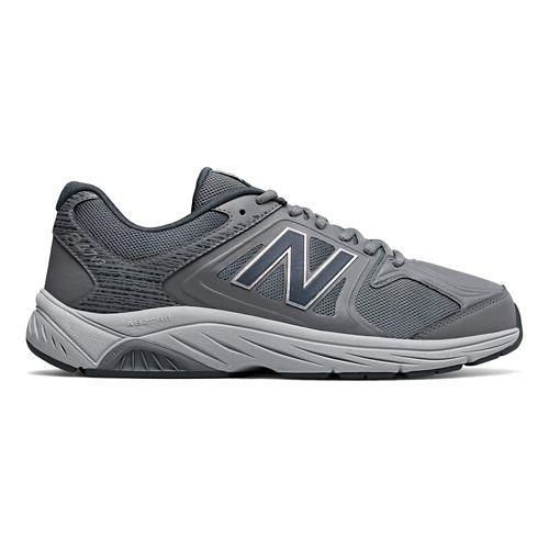Mens New Balance 847v3 Walking Shoe - White/Grey 15
