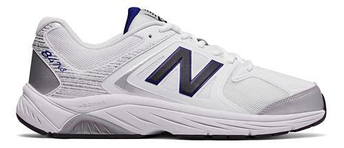 Mens New Balance 847v3 Walking Shoe - White/Grey 11