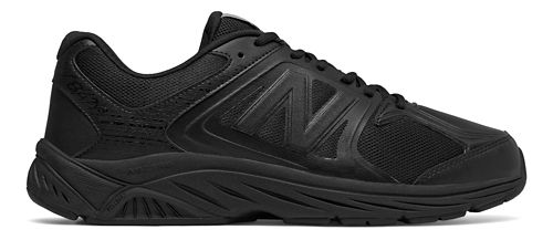 Mens New Balance 847v3 Walking Shoe - Black/Black 11.5