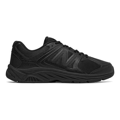 Mens New Balance 847v3 Walking Shoe - Black/Black 7.5