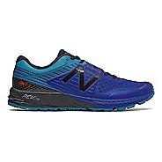 Mens New Balance 910v4 Trail Running Shoe - Pacific/Black 13