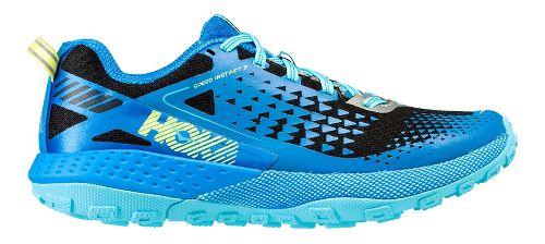 Womens Hoka One One  Speed Instinct 2 Trail Running Shoe - Blue/Black 8.5