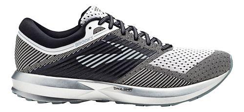 Mens Brooks Levitate Running Shoe - Black/White 12