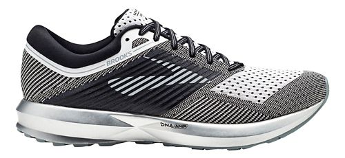 Mens Brooks Levitate Running Shoe - Black/White 13