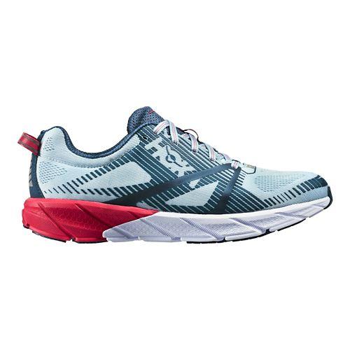 Womens Hoka One One Tracer 2 Running Shoe - Sea Angel/Blue 10.5