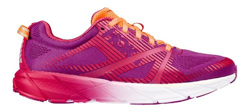 Womens Hoka One One Tracer 2 Running Shoe - Purple/Pink 7.5