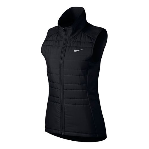 Womens Nike Essential Filled Vests - Black XS