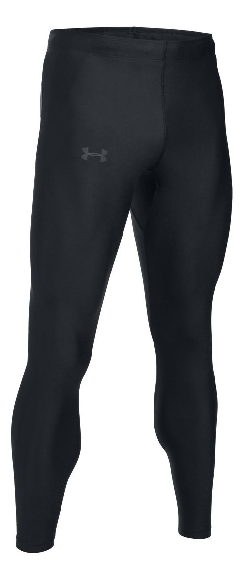 Mens Under Armour Accelebolt Tights - Black/Black L