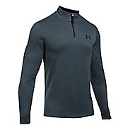 Mens Under Armour Fleece 1/4 Zip Slub Half-Zips & Hoodies Technical Tops