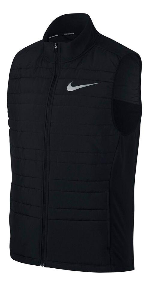 Mens Nike Filled Essential Vests - Black M