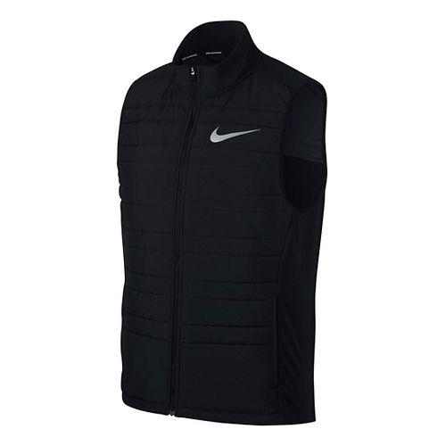 Mens Nike Filled Essential Vests - Black L