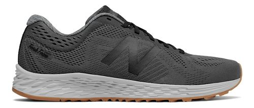 Mens New Balance Fresh Foam Arishi Running Shoe - Magnet/Black 10.5