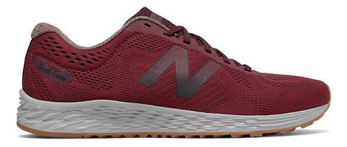 Mens New Balance Fresh Foam Arishi Running Shoe - Red/Chocolate 11.5