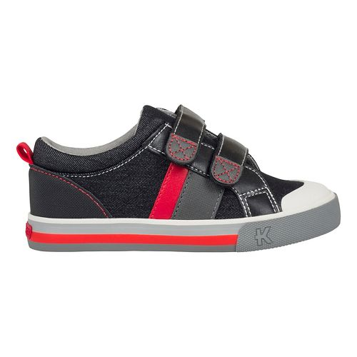 See Kai Run Russell Casual Shoe - Grey Denim 2Y