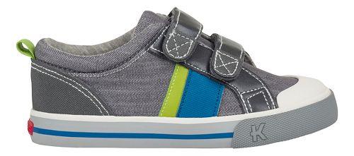 See Kai Run Russell Casual Shoe - Grey Denim 2Y