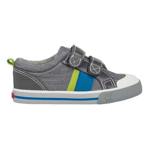 See Kai Run Russell Casual Shoe - Grey Denim 11.5C