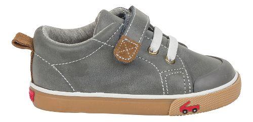 Kids See Kai Run Stevie II Casual Shoe - Grey Leather 13.5C