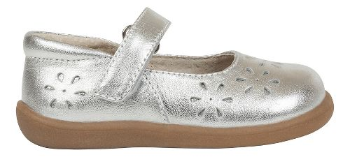 Kids See Kai Run Ginger II Casual Shoe - Silver 6.5C