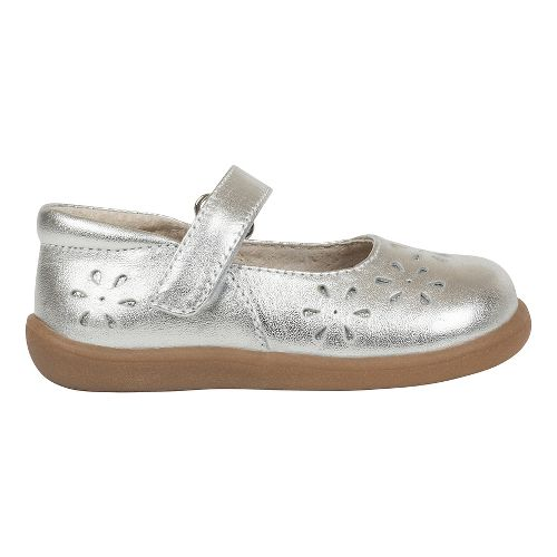 Kids See Kai Run Ginger II Casual Shoe - Silver 7C