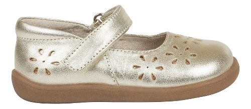 Kids See Kai Run Ginger II Casual Shoe - Gold 4.5C