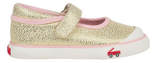 See Kai Run Marie Sandals Shoe - Gold Glitter 6C