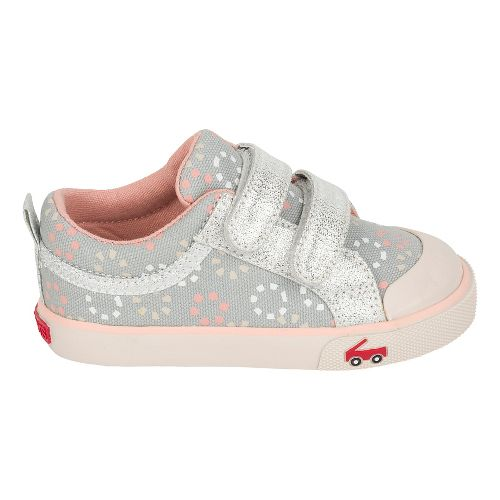 Girls See Kai Run Robyne Casual Shoe - Grey/Silver 10C