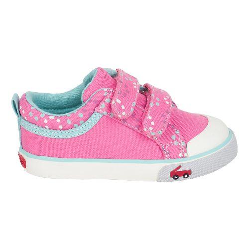 Girls See Kai Run Robyne Casual Shoe - Hot Pink 13C