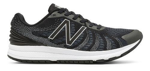 Mens New Balance Rush v3 Running Shoe - Black/White 10