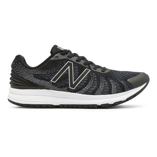 Mens New Balance Rush v3 Running Shoe - Black/White 8.5