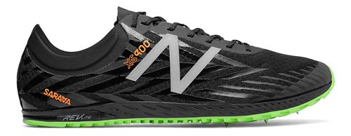 Mens New Balance XC900v4 Spike Track and Field Shoe - Black/Dynamite 11.5