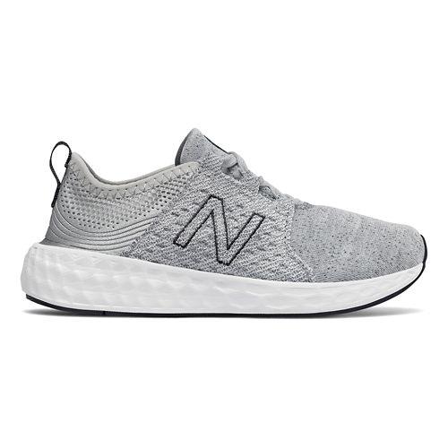 Kids New Balance Fresh Foam Cruz Running Shoe - Silver/Outerspace 4Y