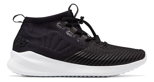 Womens New Balance Cypher Run Running Shoe - Black/White 8.5