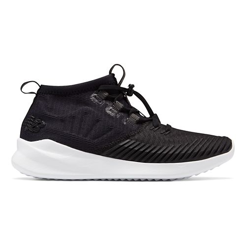 Womens New Balance Cypher Run Running Shoe - Black/White 10.5