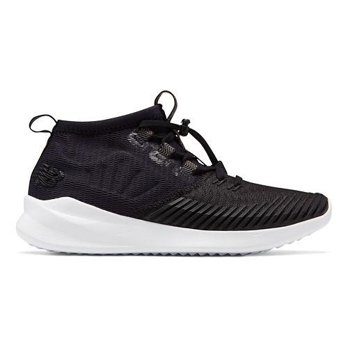 Womens New Balance Cypher Run Running Shoe - Black/White 9