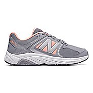 Womens New Balance 847v3 Walking Shoe - Grey/Pink 13