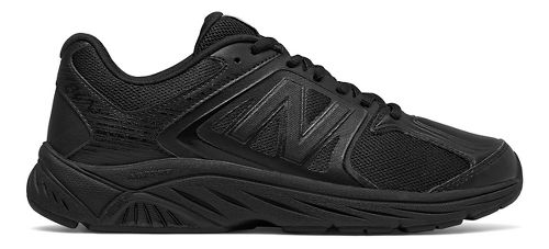 Womens New Balance 847v3 Walking Shoe - Black 6.5