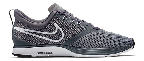 Mens Nike Zoom Strike Running Shoe - Black/White 11