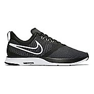 Womens Nike Zoom Strike Running Shoe - Black/White 7.5