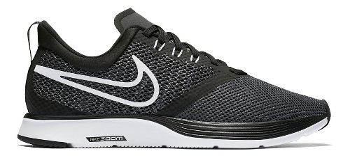 Womens Nike Zoom Strike Running Shoe - Black/White 7