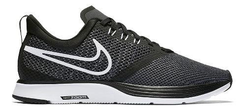 Womens Nike Zoom Strike Running Shoe - Black/White 8